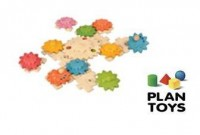 Gears & Puzzles Deluxe Plan Toys